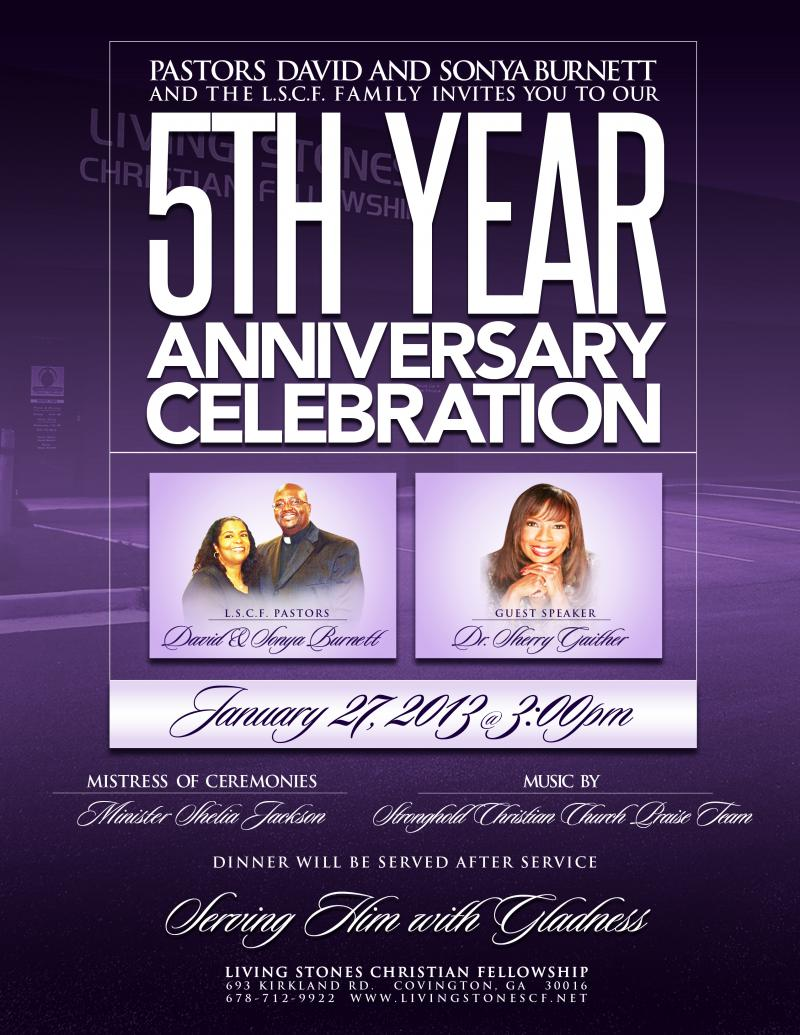 Pin Church Anniversary Flyer on Pinterest